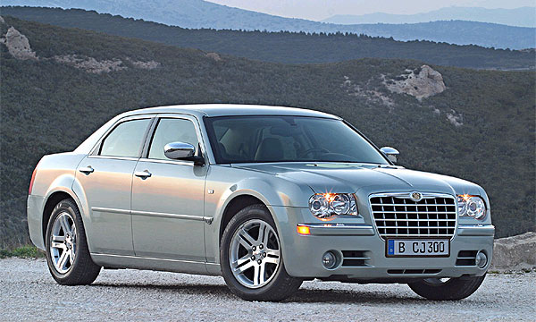 Chrysler 300С, Jeep Grand Cherokee, Dodge Caravan