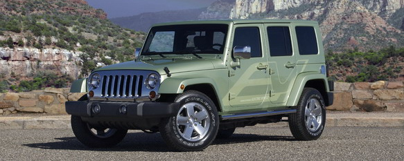 Jeep® Wrangler Unlimited EV