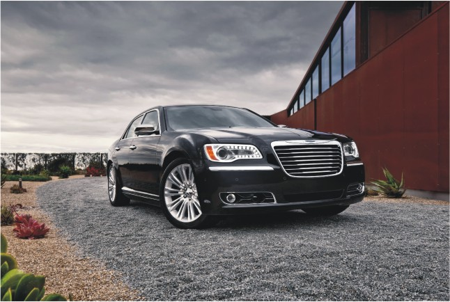 CHRYSLER 300: мировая премьера