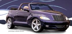 Началось производство кабриолета Chrysler PT Cruiser